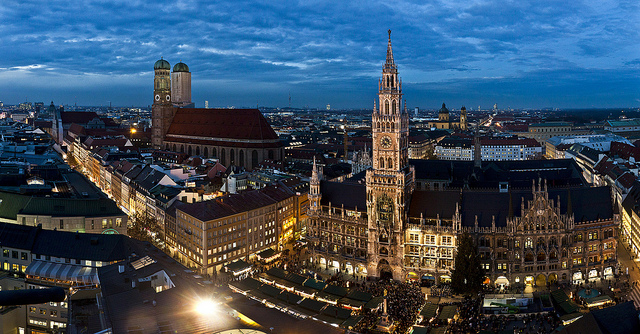 Munich - By night