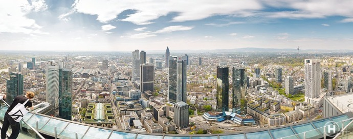 Frankfurt - Main Tower View