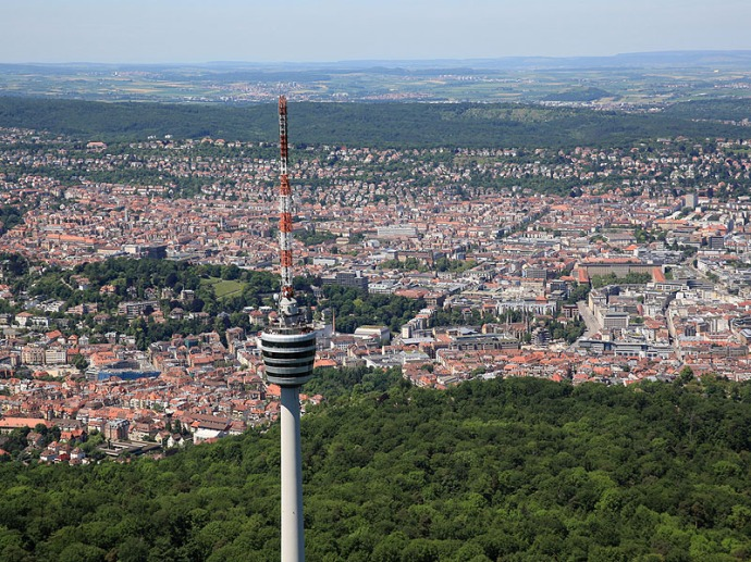 Stuttgart - Fernsehrturm