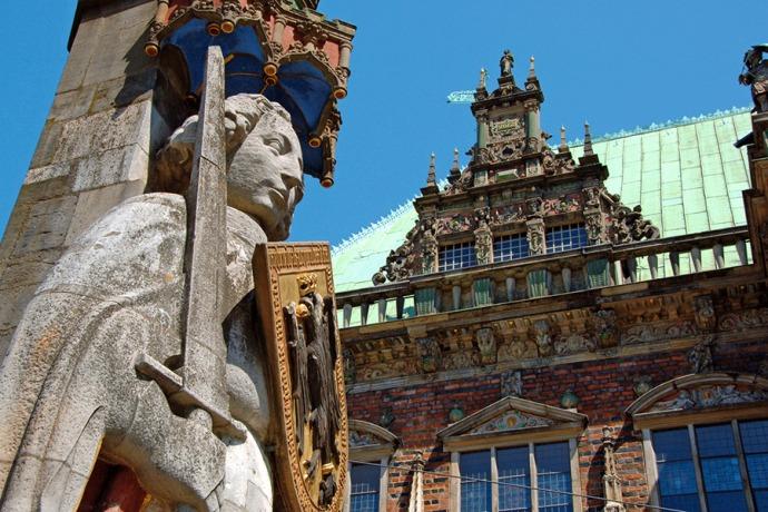 Bremen - Roland statue