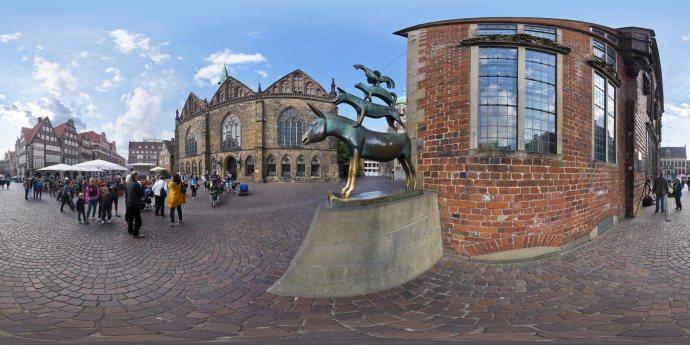 Bremen - Stadtmusikanten