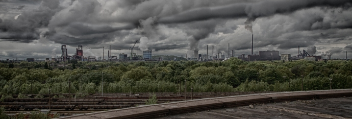 Industrie Skyline - Duisburg Meiderich