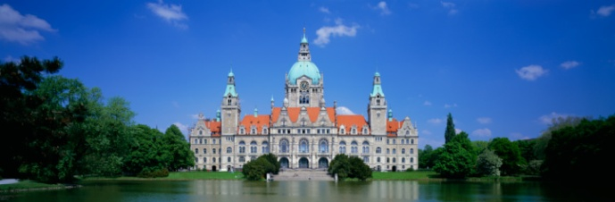 Town hall, Hanover, Germany
