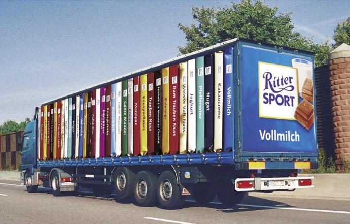 Ritter Sport - Truck