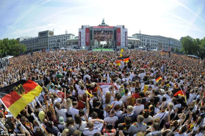 World Cup - Brandenburger Tor