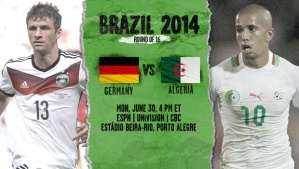 World Cup - Germany v Algeria