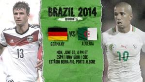 World Cup - Germany v Algeria