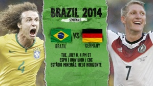 World Cup - Germany v Brazil