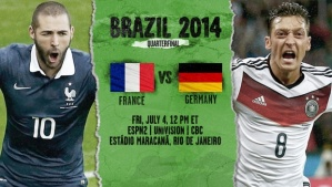 World Cup - Germany v France