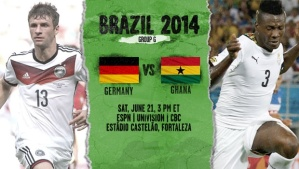 World Cup - Germany v Ghana