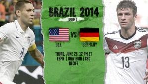 World Cup - Germany v USA